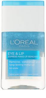 l oréal paris skin perfection two phase make up remover for eye area and lips