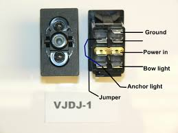 navigation light switch wiring electrical drawing wiring diagram \u2022 Light Switch Wiring Diagram carling rocker switches rh searay parts com navigation lights wiring switch boat navigation light wiring diagram for pontoon boat