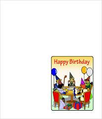 Quarter Cards 6 Quarter Fold Card Templates Psd Doc Free Premium