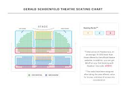 Gerald Schoenfeld Theatre Seating Chart Your A To Z Guide To Broadway Theater Seating Charts