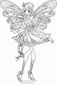 Disegno Di Bloom Butterflix Winx Club Da Colorare Resume Simple