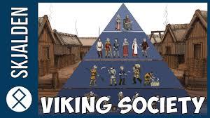 Viking Hierarchy Chart Viking Age Social Classes In Viking Society