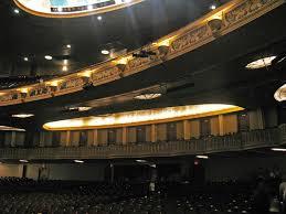Detroit Opera House Detroit Michigan View Of Balcony Whe