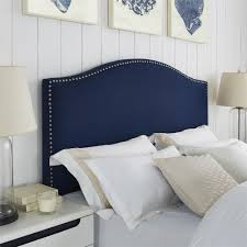 Bedroom: Quilted Headboards With Astonishing Linen Headboard ... & linen nailhead headboard with Astonishing linen headboard combined with  padded headboard for beds ideas Adamdwight.com