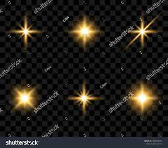Translucent Light Bright Flashes Beautiful Light On Translucent Stock Vector