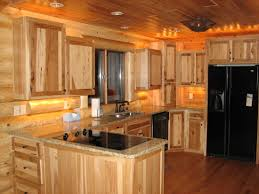 Denver Hickory Kitchen Cabinets Solid Surface Hickory Kitchen Cabinets Brown Traditional
