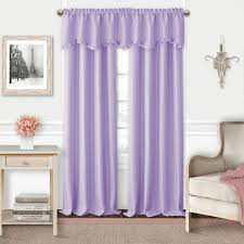 attractive purple kitchen curtains