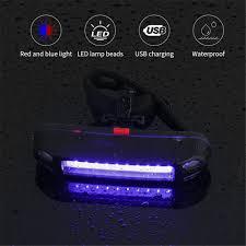 Đèn Hậu Xe Đạp BORUiT 800MAh Đèn Hậu Xe Đạp Leo Núi Sạc USB, Đèn Xe Đạp  Không Thấm Nước, Đèn Hậu LED 5 Chế Độ   Xe đạp trẻ em