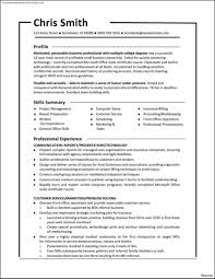Functional Resume Example Resumes Cv Australia 2018 Examples For