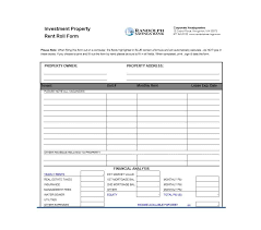 Rent Roll Form Enchanting 44 Rent Roll Templates Forms Template Archive