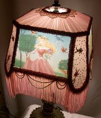 lamp princess enchanting victorian lampshades lampshade enchantinglampshades spotlight home small table chandelier neutral shade lime green black