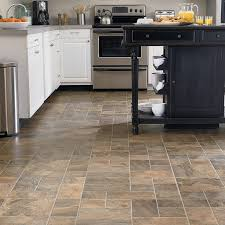beige sandstone laminate tile floors for kitchen