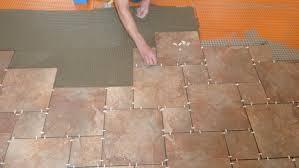 Installing Kitchen Flooring Laying Kitchen Floor Tiles Aromabydesignus