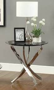 round wood and glass end tables show round metal end tables round glasetal round wood and glass end tables