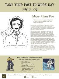 take your poet to work edgar allan poe take your poet to work edgar allan poe