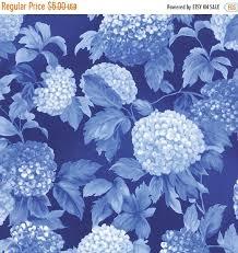 HYDRANGEAS Royal Blue 1/2 yd Moda Fabric tonal blender shabby ... & HYDRANGEAS Royal Blue 1/2 yd Moda Fabric tonal blender shabby quilt  Victorian Summer Breeze III Sentimental Studios half yard 32940-17 Adamdwight.com
