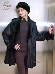 higgs leathers 34 to 52 bust serena toscana trimmed black leathercoats
