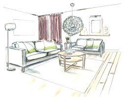 interior design living room drawings. Simple Drawings Interior Design Living Room Sketches Awesome  Hand Drawing Intended Drawings