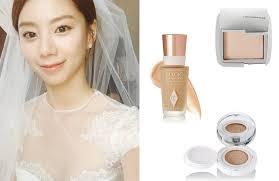 korea bridal hair and makeup dewy plexion 1