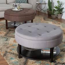 storage ottoman coffee table. Belham Living Dalton Coffee Table Storage Ottoman With Tray \u0026 Shelf O