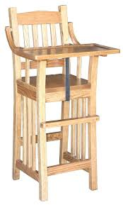 wooden high chair table best solid wood high chairs images on family mission wooden high chair wooden high chair table