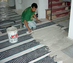 flooring enchanting heated tile floors pros and cons cost installation lowes on concrete bathroom bat heated