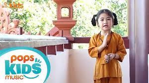 Thầy Dạy Con Niệm Phật - Bé Trúc Tiên | Nhạc Thiếu Nhi Phật Giáo - YouTube