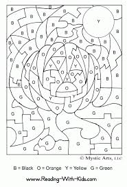 We are sure your kids will have a great time with these free printable multiplication coloring. Coloring Pages Color Coded To Print Coloring Home