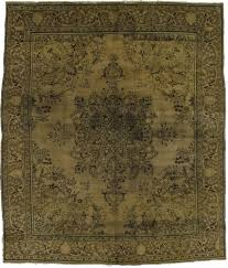 details about antique muted hand knotted beige vintage persian oriental area rug carpet 9x11