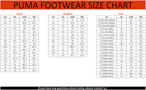 Vans Size Chart Inches France Puma Soccer Cleats Size Chart 5f353 A8554