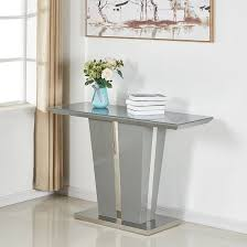 memphis console table in grey high