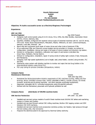 Resume Examples Electrical Engineer Examples Of Resumes Awesome