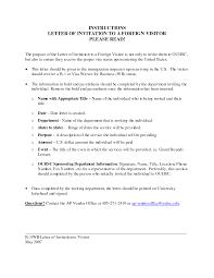 Invitation Letter Format For Business Visa Choice Image Letter
