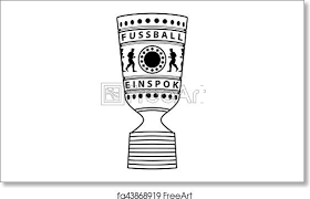 The cup, they say, has its own rules. Free Art Print Of Pictogram German Cup Trophy Vektor Dfb Pokal Pictogram German Cup Trophy Vektor Dfb Pokal Icon Symbol Pictogram Freeart Fa43868919