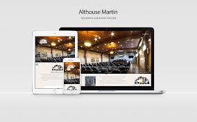 Schweb Design Althouse Martin Responsive Website Design Schweb Design Llc