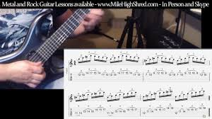 Arpeggio Section to <b>The Dad Abides</b> Preview Guitar Lesson (parts ...