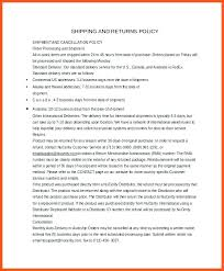 Return Or Cancellation Policy Template Upon Return Cancellation ...