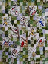 Best 25+ Fabric panels ideas on Pinterest | Fabric panels for ... & bird panels interspersed with wonky 9 patches quilt top (for a tree bird… Adamdwight.com