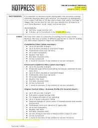 Photography Bid Proposal Template Simple Of Unique The Business Best ...