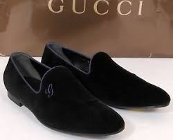 gucci leather shoes for men black. new-gucci-signature-black-velvet-loafers-formal-shoes- gucci leather shoes for men black