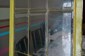 have you ever done any kind of diy frosted glass windows before there are three