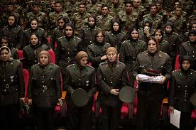 a deadly triangle and  women of the afghan national army
