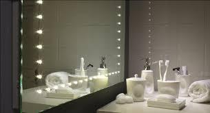 mirror with integrated lighting bathroom decoration using led modern bathroom mirror lighting including white glass bathroom bathroom mirror lighting