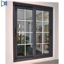 philippines used house new design modern latest grill design windows aluminium frame sliding glass window