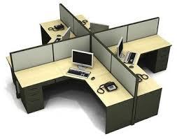 office cubicle desks.  Office Crossing Shape Modular Workstation Desk For Office Cubicle Design On Office Cubicle Desks