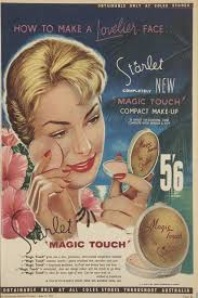 starlet makeup from coles 1959