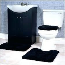 black bath rug sets bathroom home and 3 piece set red rugs black bear bathroom rug sets