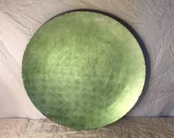 home decor plate x: x large vintage decorative green charger plate vintage vietnamese home decor green decorative charger plate metallic home decor