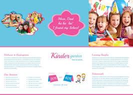 Free Kindergarten Tri-Fold Brochure Template In Adobe Photoshop ...