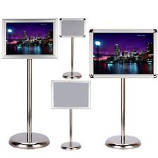 A3 Display Stands HOT A100 A100 FLOOR STANDING MENU POSTER DISPLAY HOLDER SNAP FRAME 58